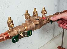 Photograph of Backflow Preventer Valve